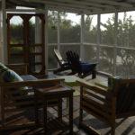 afternoon rain storm